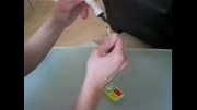 اموزش شعبده بازی روشن کردن کبریت سوخته