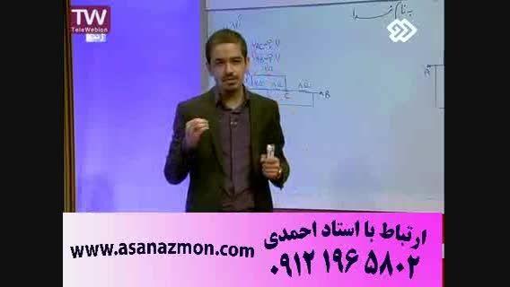 تدریس تکنیکی و حل تست امپراطور فیزیک - کنکور 5