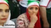 حضور بازیگران زن ایرانی در ورزشگاه
