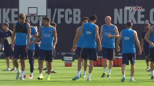 تمرینات بارسلونا (16.07.2015) - تمرینات همراه 23 بازیکن