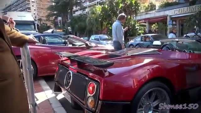 تردد این تعداد خودروی سوپر اسپرت لوکس در یک خیابان