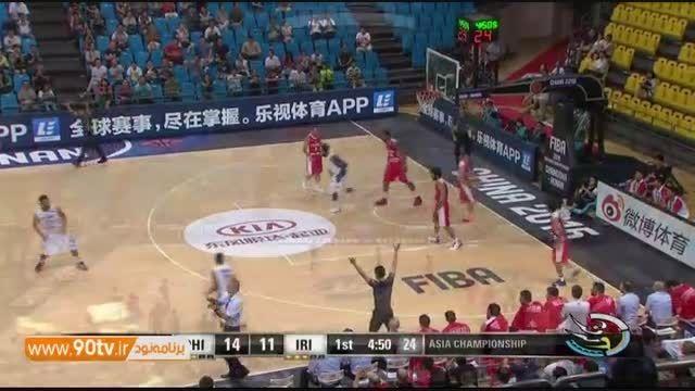 حواشی بازی بسکتبال ایران ۷۳ - ۸۷ فیلیپین