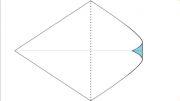 اوریگامی ساخت کبوتر کاغذی
