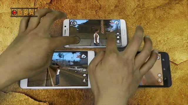تست مولتی تاچ Galaxy S6 edge , note EDGE و Zenfone 2