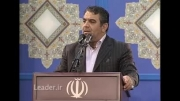 مداحی حاج حسن خلج در بیت رهبری