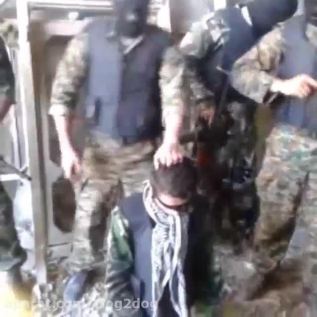 سربریدن دختر توسط داعش!