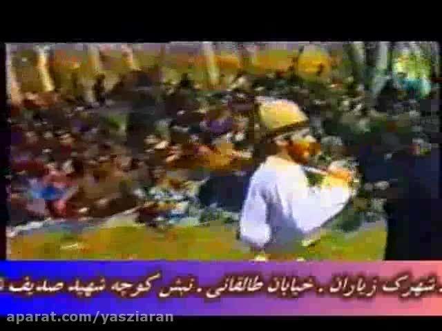 شاهکار سید علی حسینی در قنبر خوانی