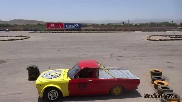 دریفت و دور درجا با خودروی BMW در پیست ثامن مشهد