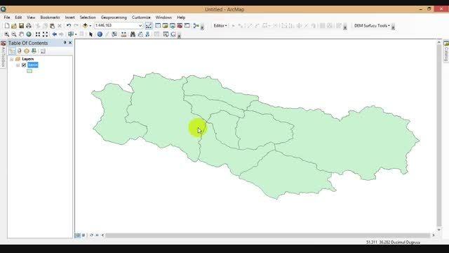 سوئیچ کردن بین google earth و GIS ورژن 2
