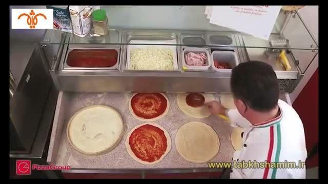انواع فر پیتزا کارخانه pizza group