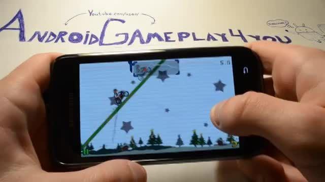 گیم پلی بازی اندرویدی MX Moto
