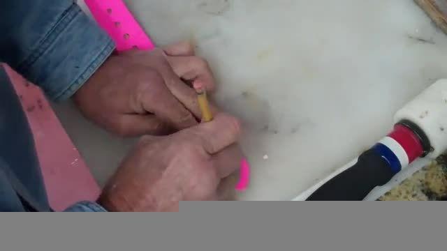 ساخت لوازم چرمی - کمربند چرمی