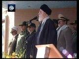 جواب دندان شکن مقام معظم رهبری (آمریکا و سگ نگهبانش رژیم صهیونیستی بدانند پاسخ ایران اسلامی به هرگونه تهدید و تعرض آنها