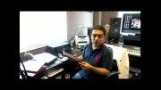 صحبت های سامان احتشامی در مورد جشنواره ی موسیقی