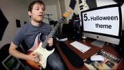 اجرای 30 آهنگ مختلف با گیتار الکتریک در یک دقیقه!!!