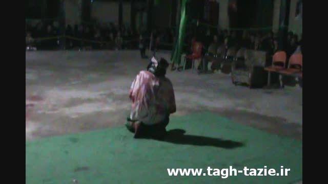 تعزیه حضرت عباس روستای طاق شهرستان دامغان مهر1394