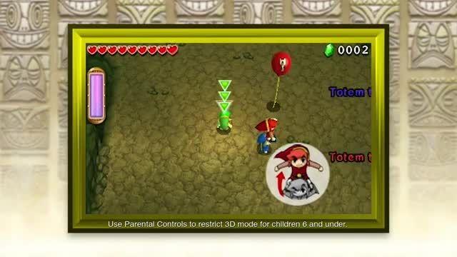 نینتندو The Legend of Zelda برای 3DS