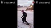 عرب برف ندیده!!!!!!!