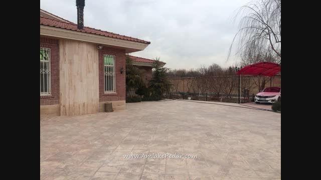 فروش باغ ویلا بسیار زیبا در منطقه  شهریار کد 53 در املا