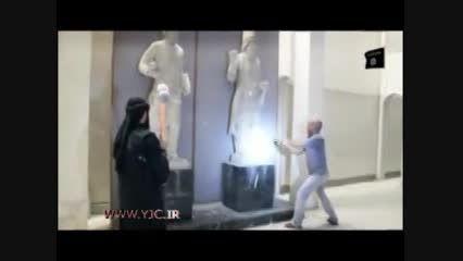 داعش آثار باستانی چند هزار ساله موصل را ویران کرد!!!