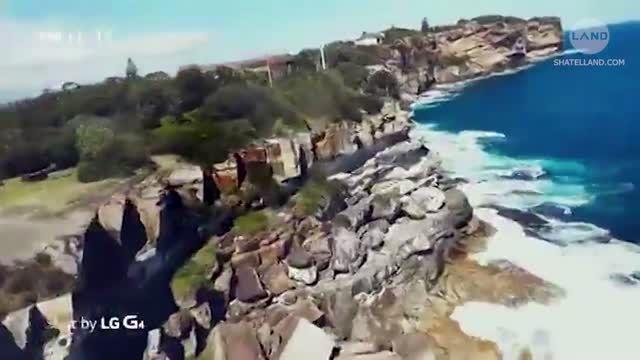 ویدیویی که گوشی LG G4 از فراز یک پهباد ثبت کرده است