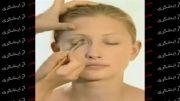 آموزش آرایش  سایه زدن