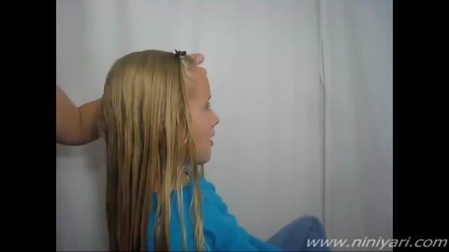 مدل موی دخترانه، آموزش یک بافت مجلسی-از سایت نی نی یاری