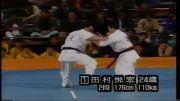 مبارزه زیبای کیوکوشین  کاراته قدیمی