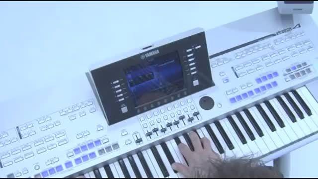 دموی تصویری شرکتی Yamaha Tyros 4