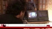 بازدید حداد عادل از پشت صحنه سریال پرده نشین