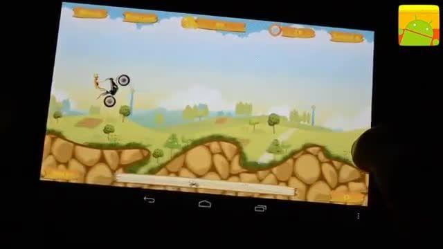 گیم پلی بازی اندرویدی Moto Race