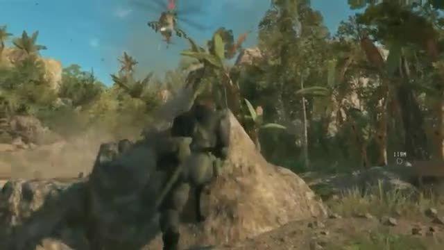 گیم پلی بازی Metal Gear Solid V The Phantom