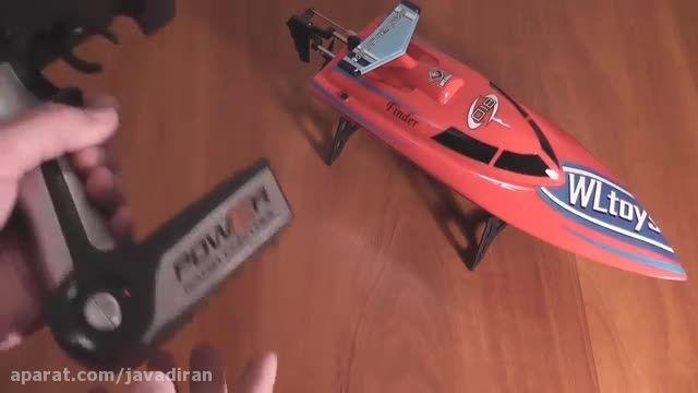 قایق کنترلی پر سرعت v۹۱۱ wltoys - 2
