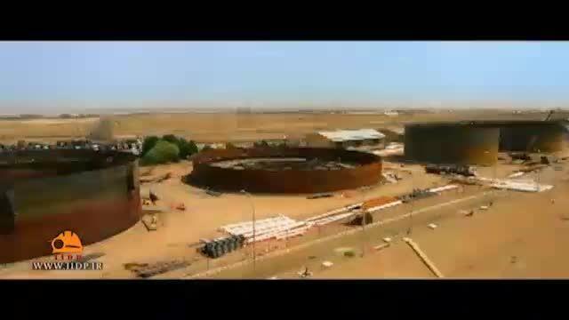 فیلم صنعتی تایم لپس پالایشگاه اصفهان
