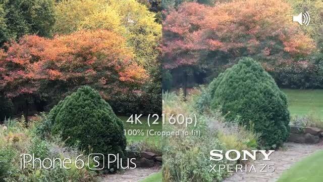 iPhone 6s Plus vs Sony Xperia Z5 Camera Test Comparison