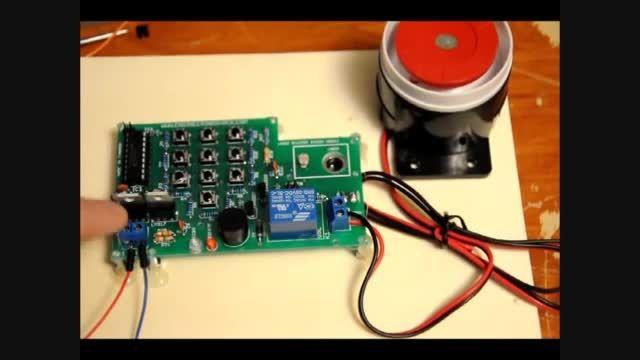 آموزش ساخت : سیستم دزدگیر لیزری بسازید