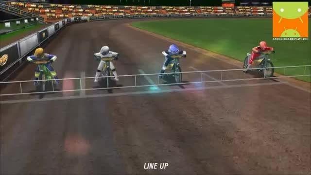 گیم پلی بازی اندرویدی Official Speedway GP 2013