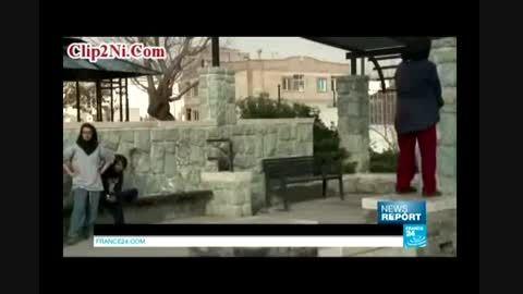 پارکور دختران ایرانی در تهران