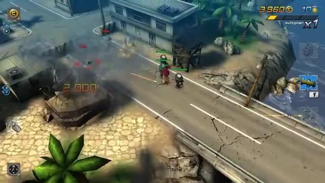 تریلر بازی Tiny Troopers 2: Special Ops برای اندروید