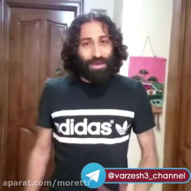 دابس مش فوق خنده دار مهدی رجب زاده بازیکن ذوب آهن