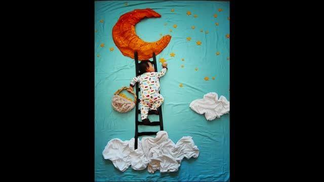 خلاقیت برای خواب کردن کودکان
