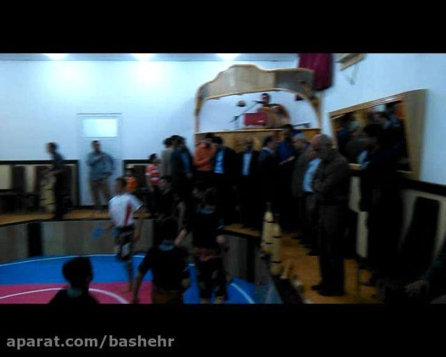 افتتاحیه زورخانه ی نیروگاه اتمی بوشهر93