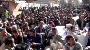 کویته: ادامه تحصن در دومین روز  در علمدار رود کویته پاکستان.