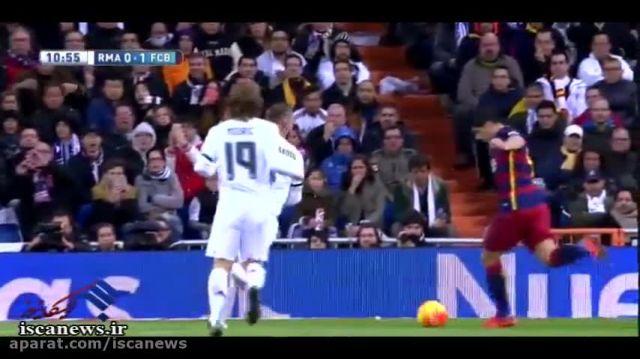 خلاصه بازی : بارسلونا 4 - 0 رئال مادرید ( ال کلاسیکو )
