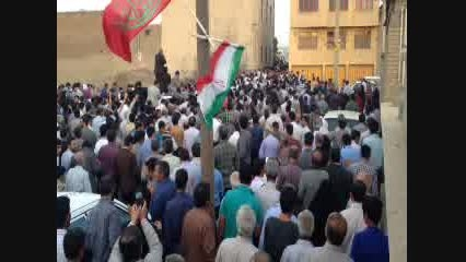 استقبال پرشور از احمدی نژاد در همدان