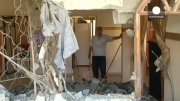 انتشار تصاویر حمله هوایی اسرائیل به فلسطین
