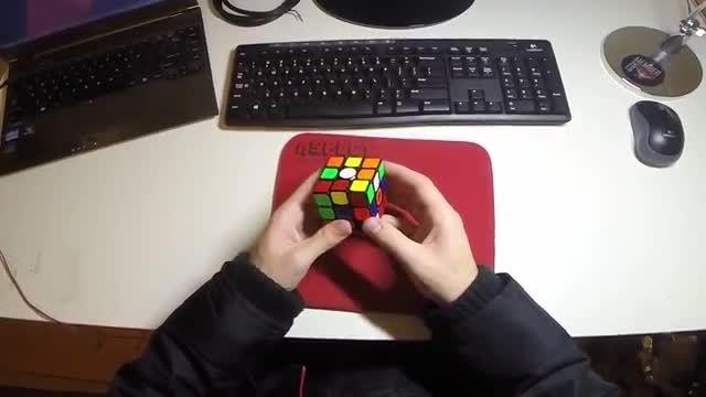 Rubik's cube one-handed average of 5-9.74-cubepress.ir