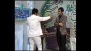 شوخی خنده دار بمب خنده ایران سیروس حسینی فر - زنده شبکه 1