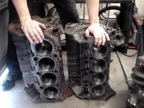 تفاوت بین موتور 427 small block vs big block