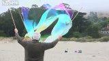 درست کردن حباب بزرگ و زیبا